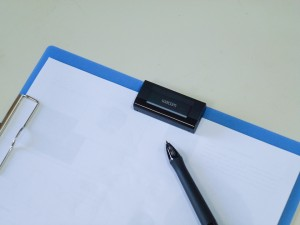 Inklingを紙ばさみと同時に使用